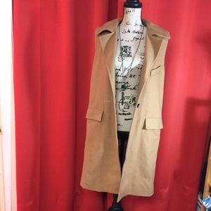 J.O.A sleeveless coat. Size s